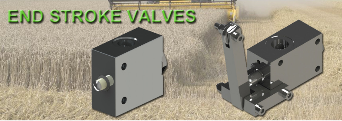 End stroke valves