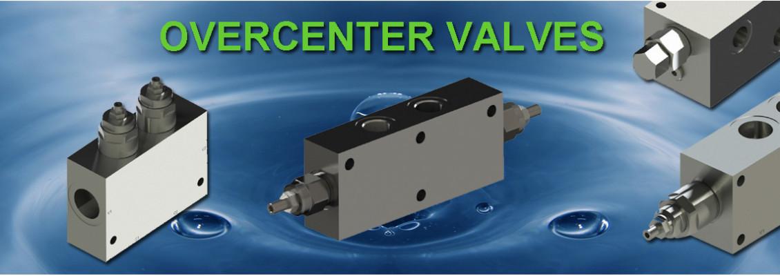 Overcenter valves